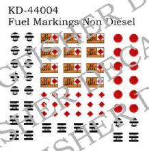 Fuel Markings - Non Diesel